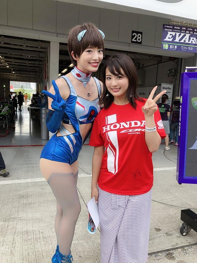 画像: 友達の柳本絵美ちゃん(左)。 ameblo.jp