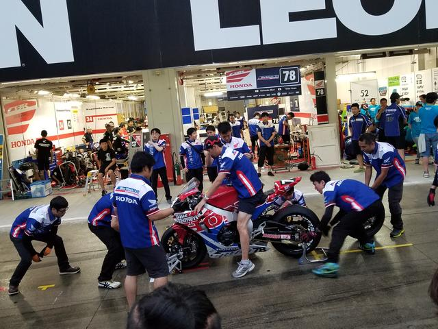 画像1: #78 HondaブルーヘルメットMSC熊本&朝霞 ピットワーク練習!!