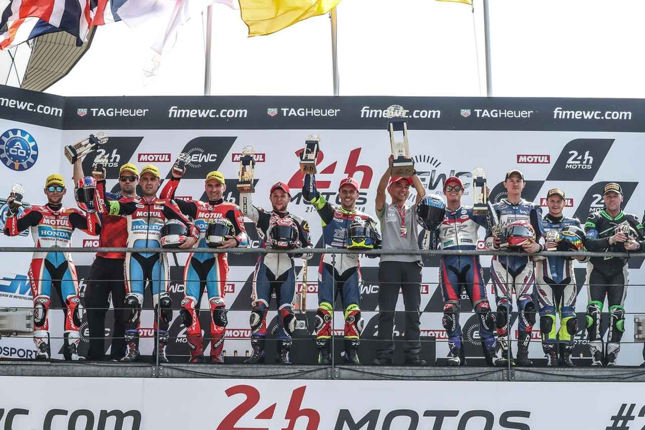 画像: 日本チームとして初めてル・マン24時間耐久レースを制覇したTSR
