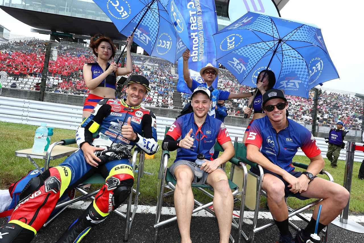 画像: 左からフォレ、ティシェ、フックの3人 フック、イケメンですからね、日本での人気も高い!