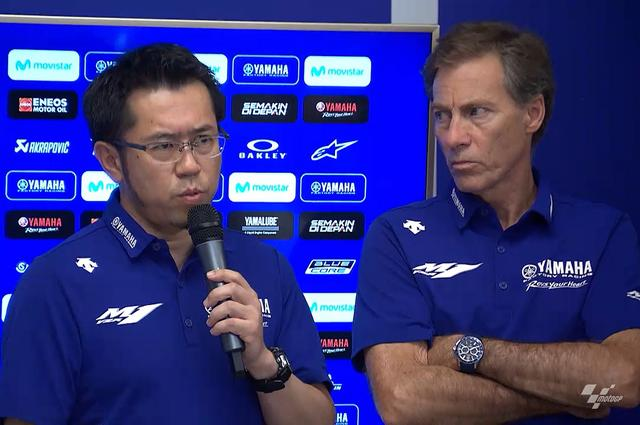 画像: 謝罪会見を開く津谷晃司さん(左) 右はチームダイレクターのリン・ジャービスさん 津谷さんのこと睨んでるみたいだけど、このひと普段からこんな表情です
