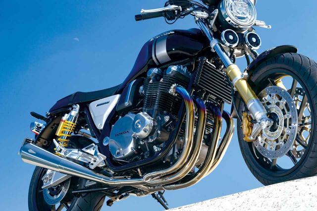 画像: 図太いトルクと澄んだサウンドを獲得! アールズギアがCB1100RS/CB1100EX(共に2017年型)用マフラーを発売! - webオートバイ