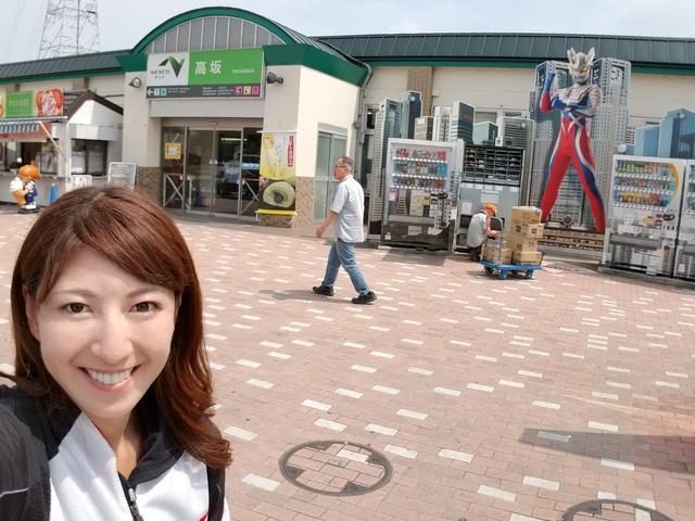 画像: この日も暑くて、小まめに休憩。 390デュークで出発!高坂SAで水分補給。 初めてバイクで長野に帰ったのも390デュークでした!