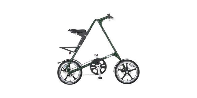 画像: STRiDA English Green折り畳み自転車