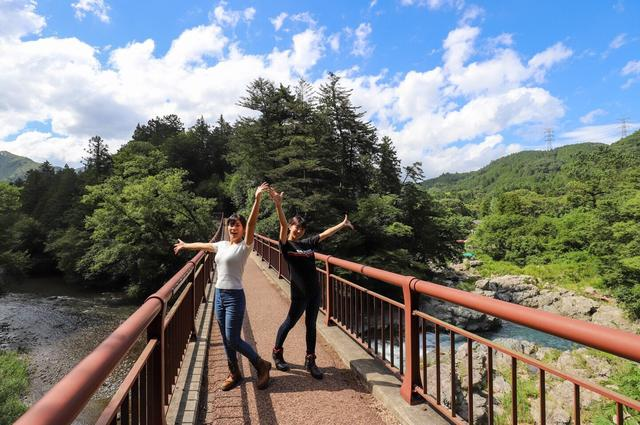 画像2: 今回のメイン秋川渓谷へ!!