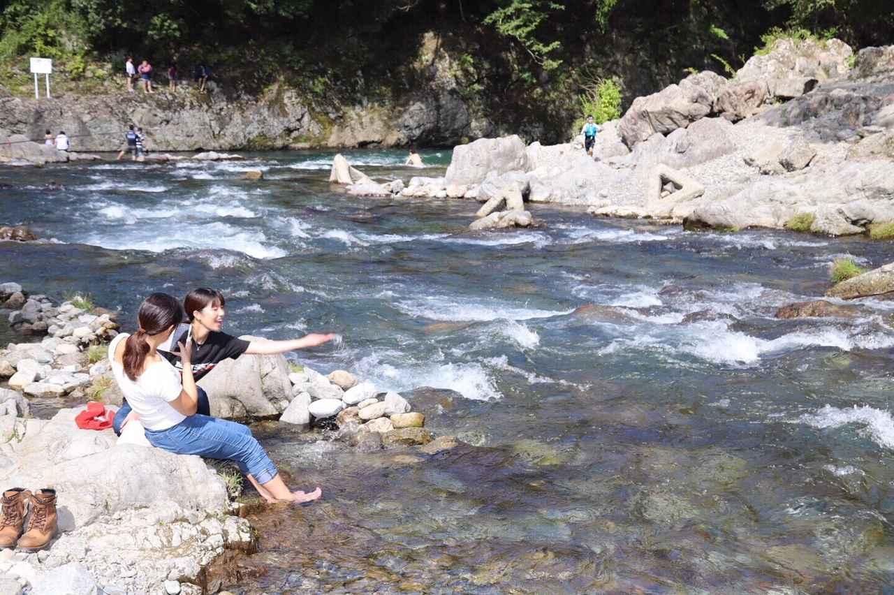 画像4: 今回のメイン秋川渓谷へ!!
