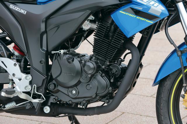 画像: 専用開発の空冷単気筒SEPエンジンは、フリクションロスの低減や燃焼効率の向上を追求。力強い加速と優れた燃費性能も両立し、シティコミューターに最適な性能を実現。