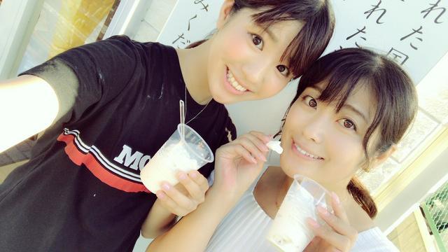 画像: 豆乳ベースのソフトクリームで、甘すぎず、さっぱりしていて暑い日にぴったりでした♪色んなお豆腐や、ドーナツも売ってました。