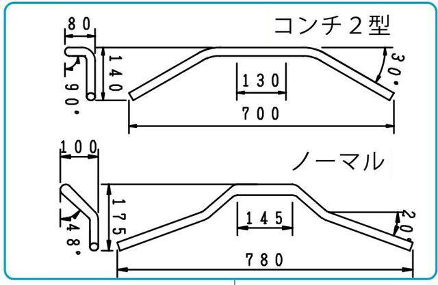 画像3: コンチ2型 ハンドル kit