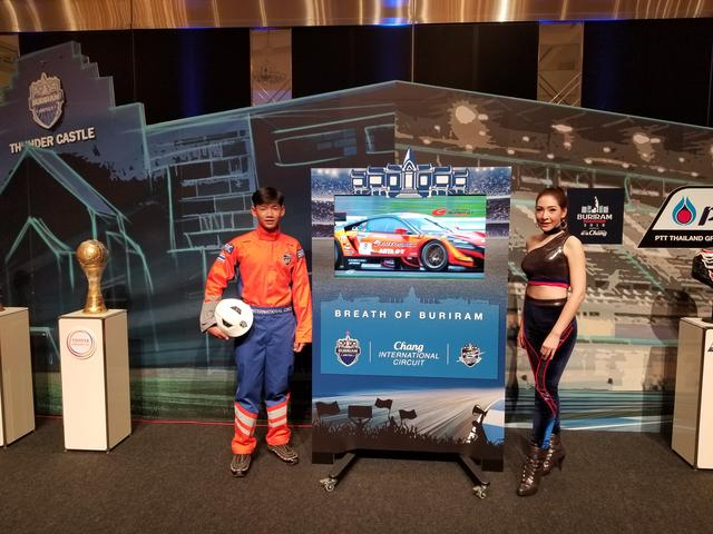 画像: タイでは、モータースポーツの他にサッカーやバレーボールも人気なんだって!!