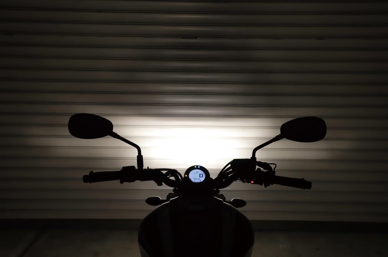 画像2: シャッキリとした白い光で闇を切り裂く