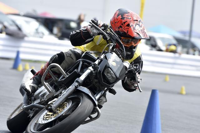 画像: NO級13位 山戸慎一郎選手&VTR250 1分58秒934