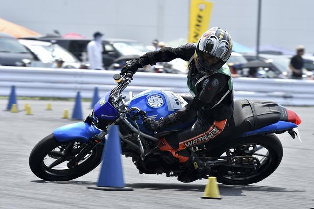 画像: C1級7位 渡辺籐太選手&VTR250 1分48秒199