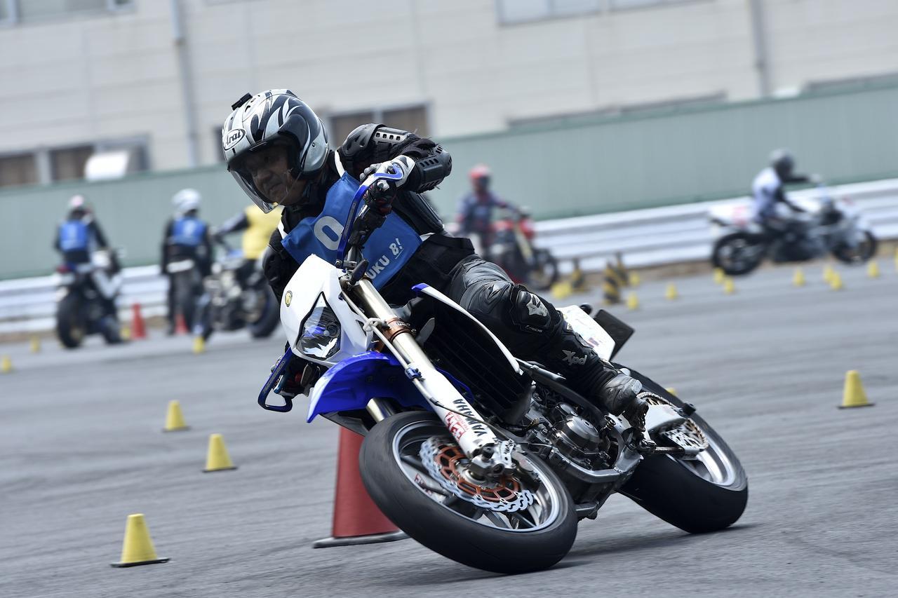 画像: B級2位 和田信行選手&WR450F 1分44秒462