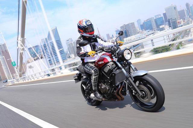 画像: 違和感なく自分にジャストフィット! ツーリングラジアル「 IRC RMC810」をXSR700に装着してみました!(斉藤ハルコ) - webオートバイ