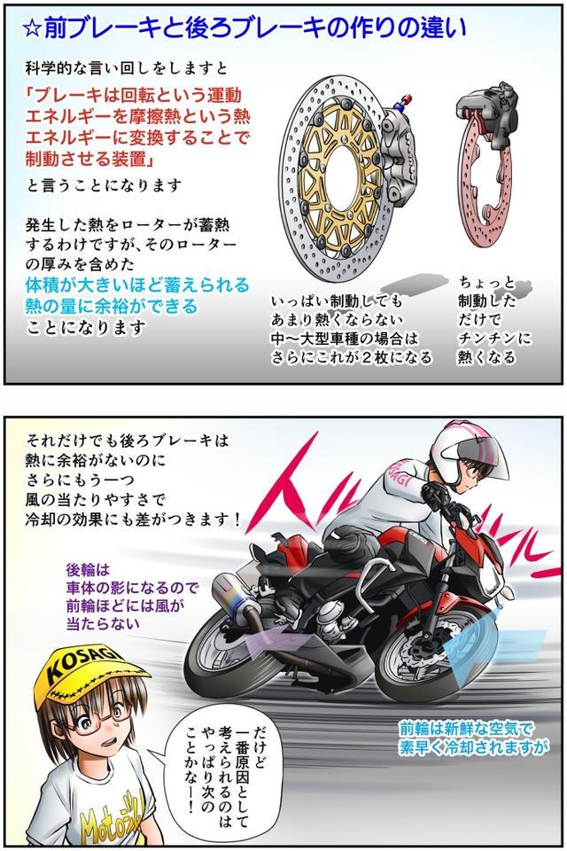 画像2: 【単行本第3巻が新発売!】 Motoジム! おまけのコーナー (加熱するリアブレーキ! その②)  作・ばどみゅーみん