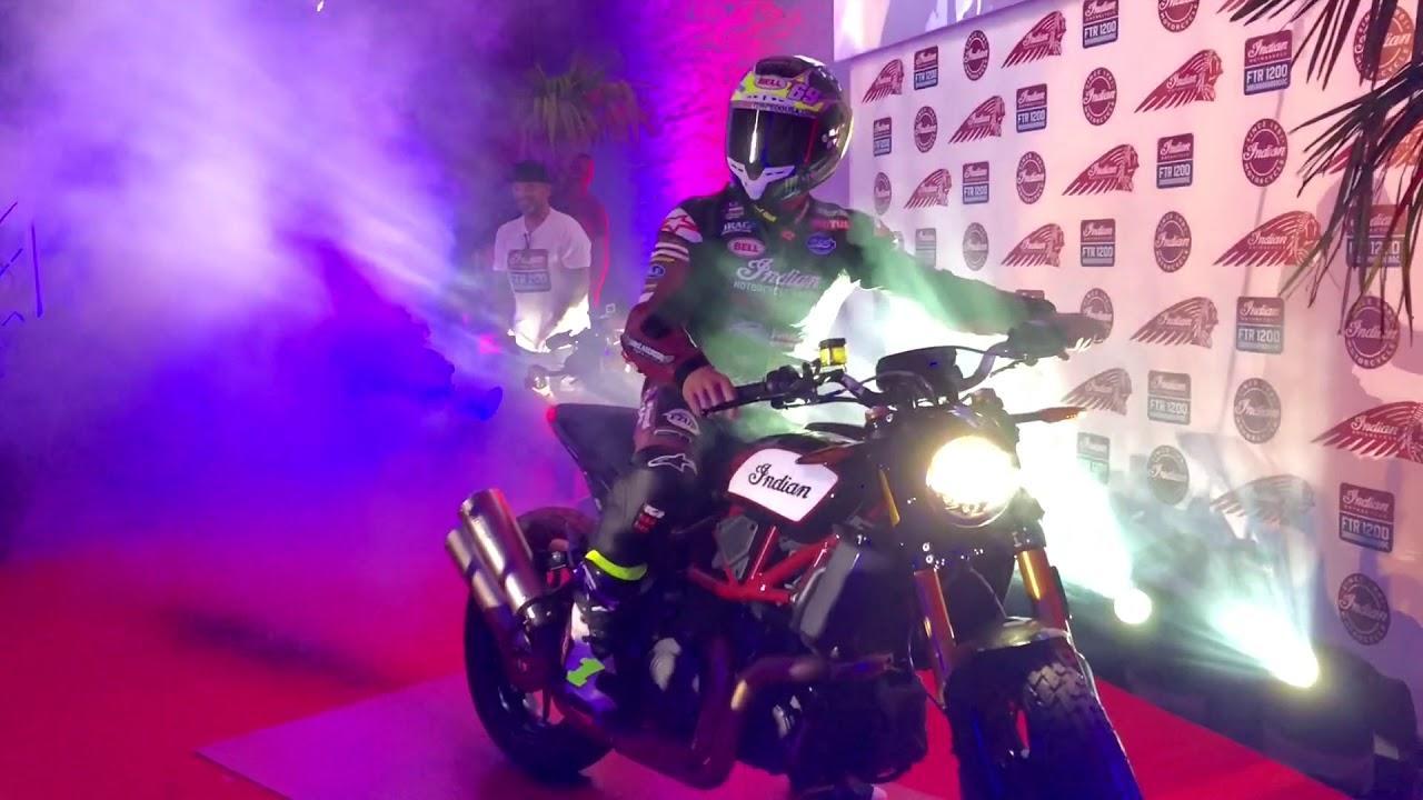画像: 【INTERMOT2018 ケルンショー】インディアンモーターサイクル VIP Party FTR1200 20181001 youtu.be