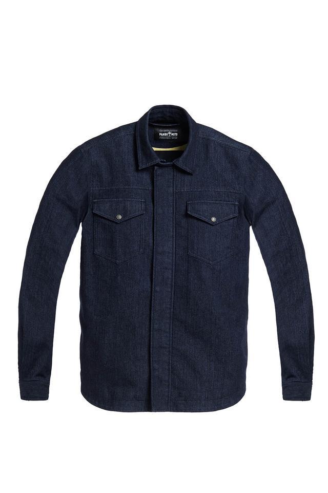 画像: CAPO 定価:41,000円(税込) デニムのユニセックスジャケット。脱着式肘・肩プロテクター付属。 サイズ:S