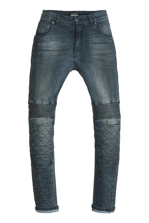 画像: Rosie Navy 定価:36,000円(税込) COOLMAX®採用のストレートストレッチデニム。着脱式膝プロテクター付属。 サイズ:W26/L32