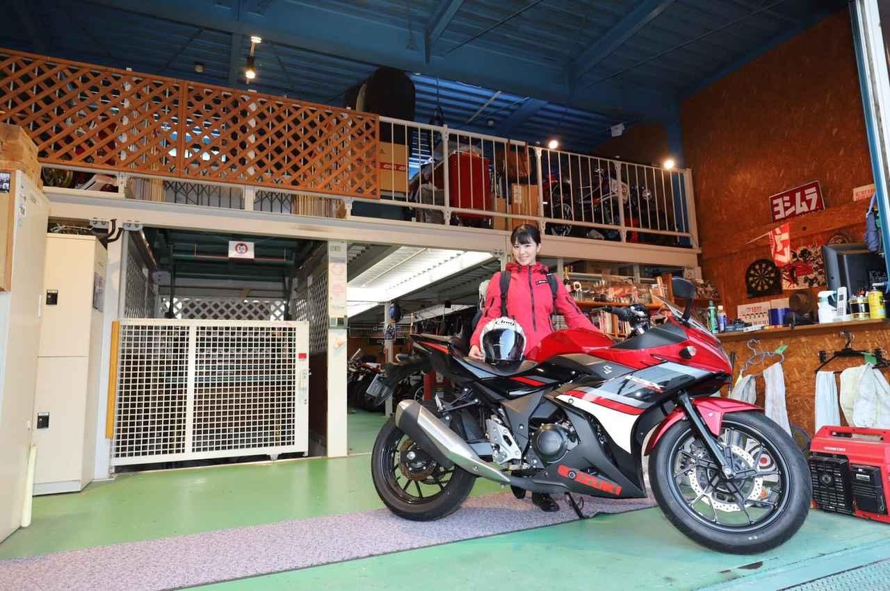 画像12: ライダーズカフェ「CAFE JOREN」さんと、バイクガレージ「B's Garage」さんへ行ってきました(梅本まどか)