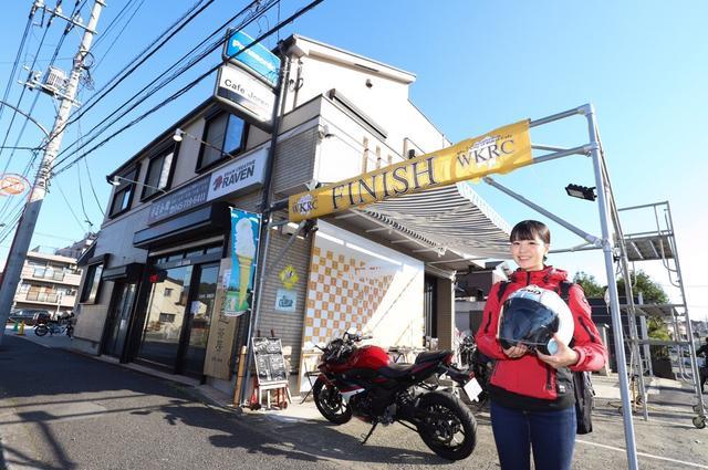 画像1: ライダーズカフェ「CAFE JOREN」さんと、バイクガレージ「B's Garage」さんへ行ってきました(梅本まどか)