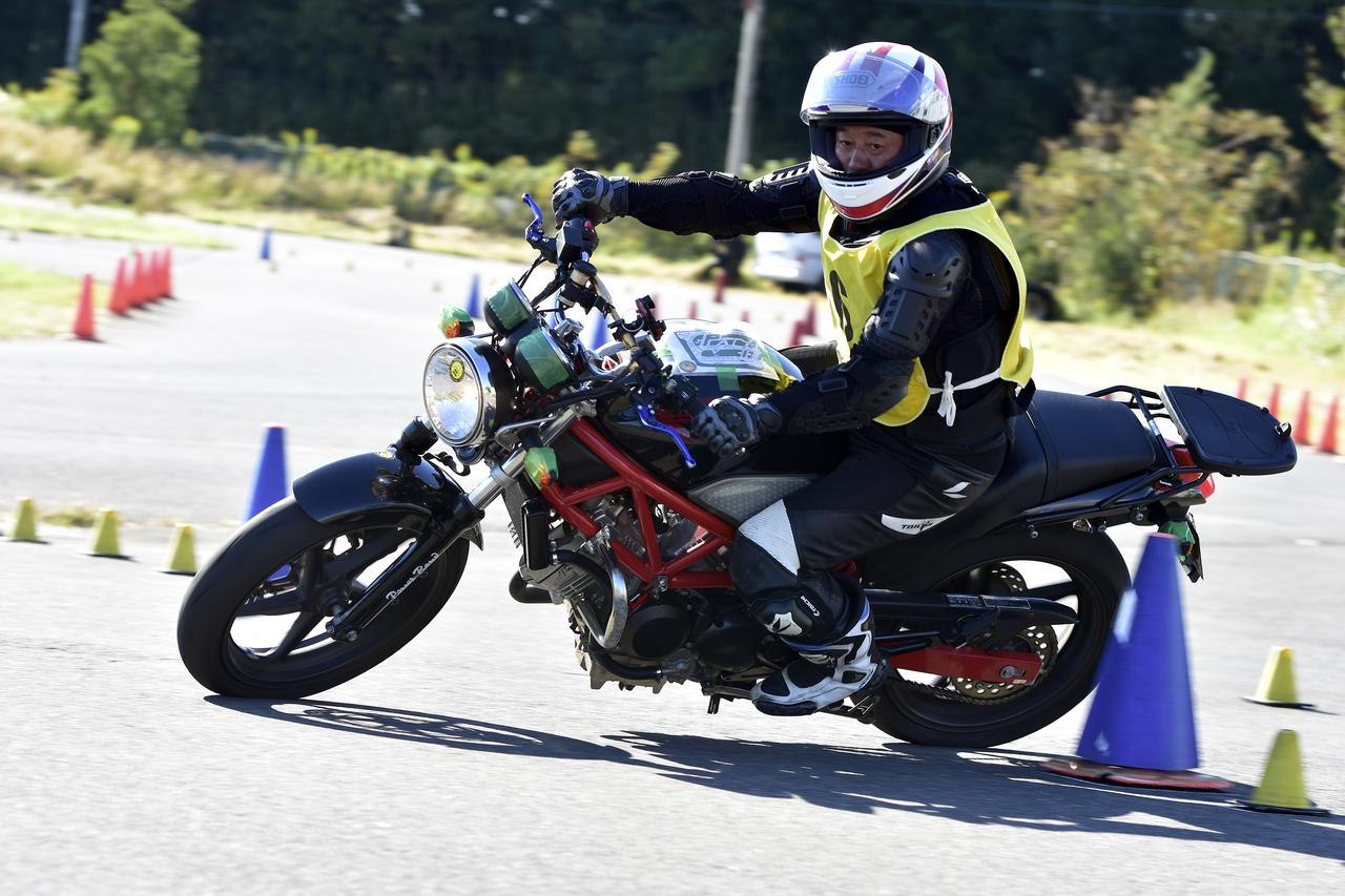 Images : 40番目の画像 - 2018ジムカーナJAPAN NO級 - webオートバイ