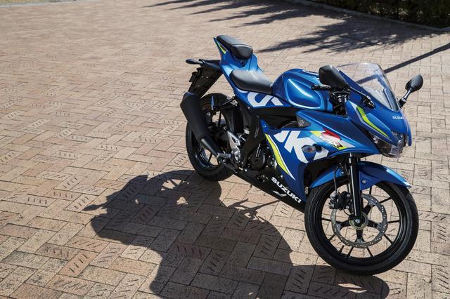 画像: SUZUKI GSX-R125 ABS 最高出力:15PS/10000rpm 最大トルク:1.1kg-m/8000rpm 価格:38万6640円 発売:2018年1月26日