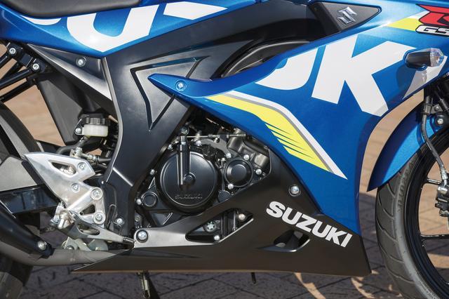 画像: 最高出力15PSの124㏄水冷シングル。DOHC4バルブ、ショートストローク設定、6つのセンサーを搭載したFIで高回転までスムーズに吹け上がる。