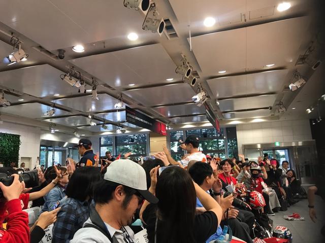 画像10: 「MOTUL 日本グランプリ ファンミーティング」に行ってきました!(梅本まどか)
