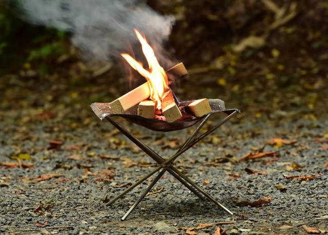 画像1: 何よりありがたいのはやっぱり焚き火