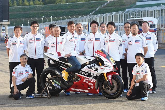 画像: 普段からYZR-M1をテストしているチームでの参戦。中須賀は2012年だっけ、スペイン・バレンシアへ代役参戦し、MotoGPクラスで2位を獲得したことがあります! レギュラーではないライダーとしてのMotoGP成績では、歴史上2位の記録!(1位は2006年、優勝のトロイ・ベイリス@ドゥカティ)