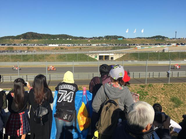 画像: 初、生MotoGPレースを見てみて