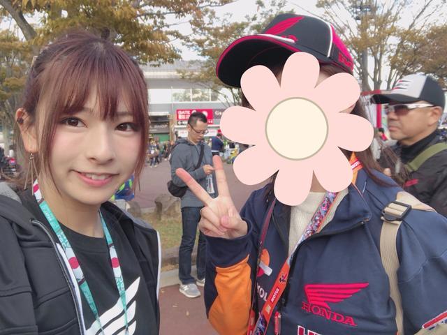 画像: お名前❥ありちゃん お住い❥神奈川県 好きな選手❥マルケス選手 今回はお顔非公開ですm(*_ _)m