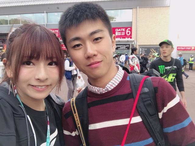 画像: お名前❥んごいあさん お住い❥埼玉県 好きな選手❥みんなですが特にマルケス選手 偶然話しかけてくださって、私のツイッターもフォローしてくださっているそうです。 ありがとうございます♡