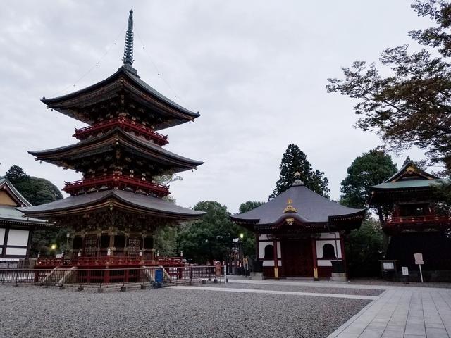 画像4: 調べたところ成田山新勝寺も16時までになっていましたが、 本堂には入れたのでお参り(*˘︶˘人)