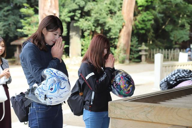 画像3: 鹿島神宮に無事到着(;_;)♡ ほっとしたわ~。