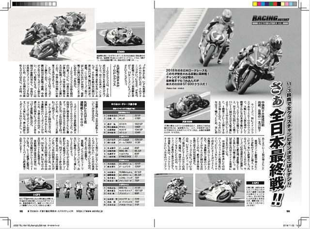 画像: きのう発売の月刊オートバイ12月号でもそんなチャンピオン争いを紹介しています♪ 書店でモーターマガジン社通信販売で、Amazonでどーぞ^^