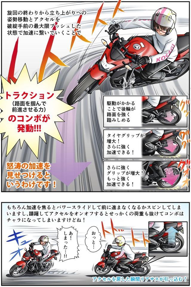 画像3: 【単行本第3巻が新発売!】 Motoジム! おまけのコーナー(上級者の走りについて!)  作・ばどみゅーみん