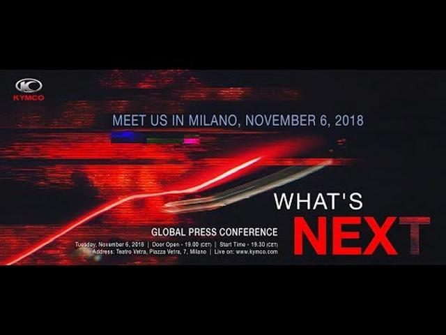 画像: KYMCO Global Press Conference | EICMA 2018 www.youtube.com