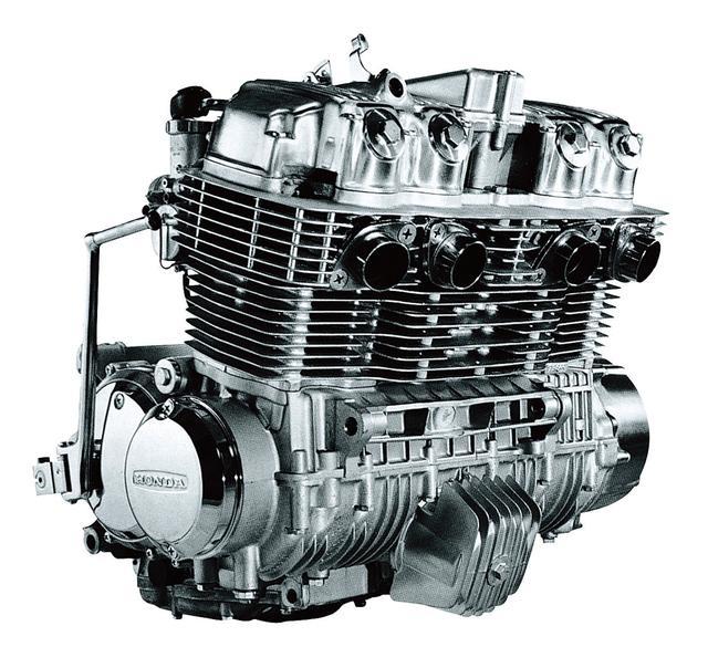 画像: 量産車世界初の並列4気筒エンジン、4連キャブレター、4本マフラー。200㎞/hの最高速とゼロヨン12秒4の超高性能で世界の頂点に立った。