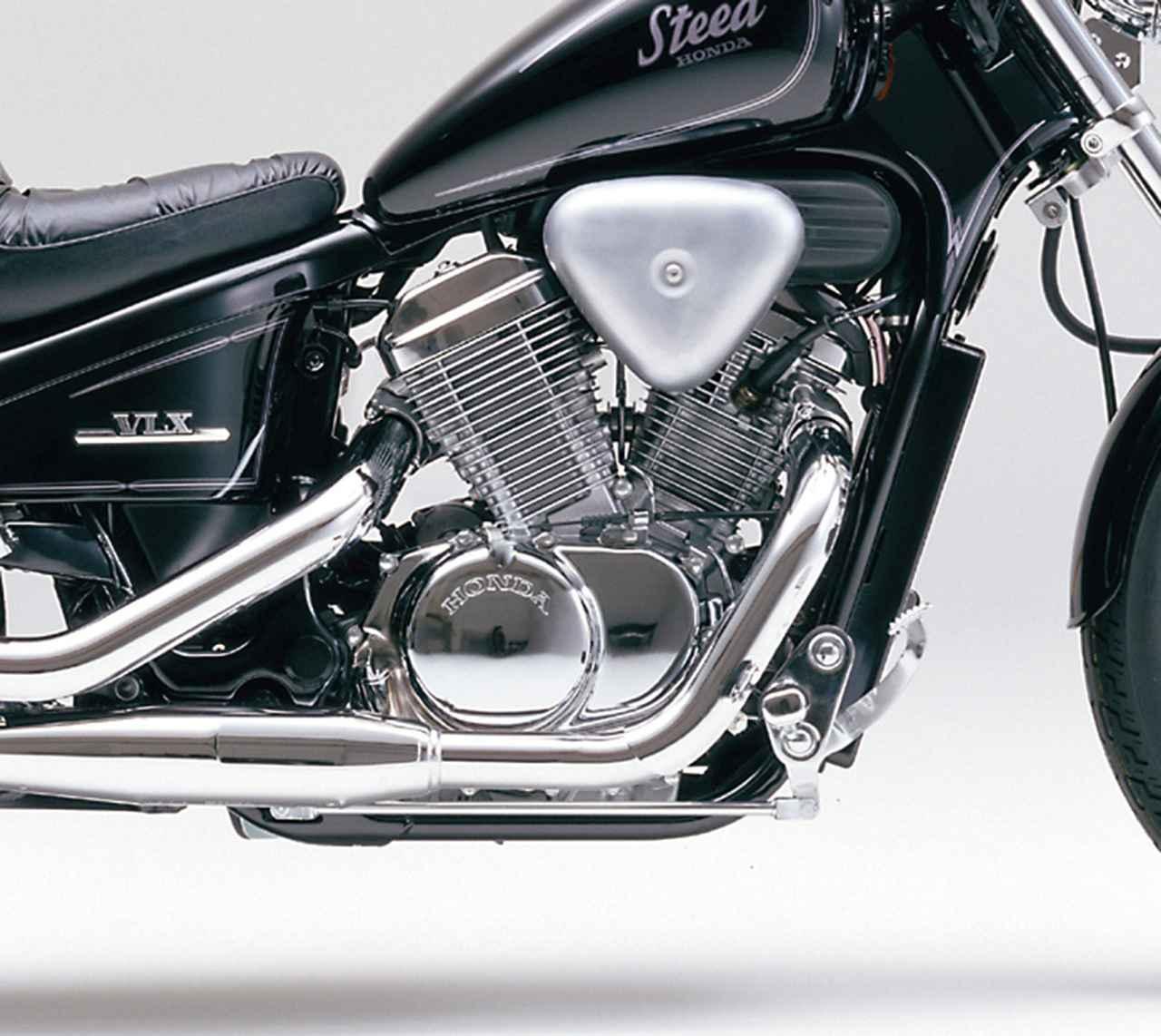 Images : 1番目の画像 - STEED 400 VLX - webオートバイ