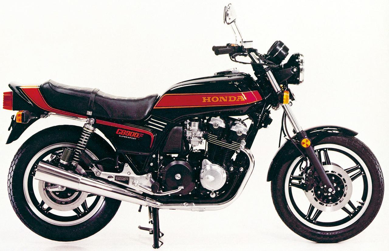 画像: CB900F 1978年 「無敵艦隊」と称された耐久レーサー、RCB1000のテクノロジーを投入し、最強・最速のスーパースポーツとしてデビューした1970年代を代表する空冷CBのフラッグシップ。フレディ・スペンサーがAMAスーパーバイクを席巻したときのマシンでもある。