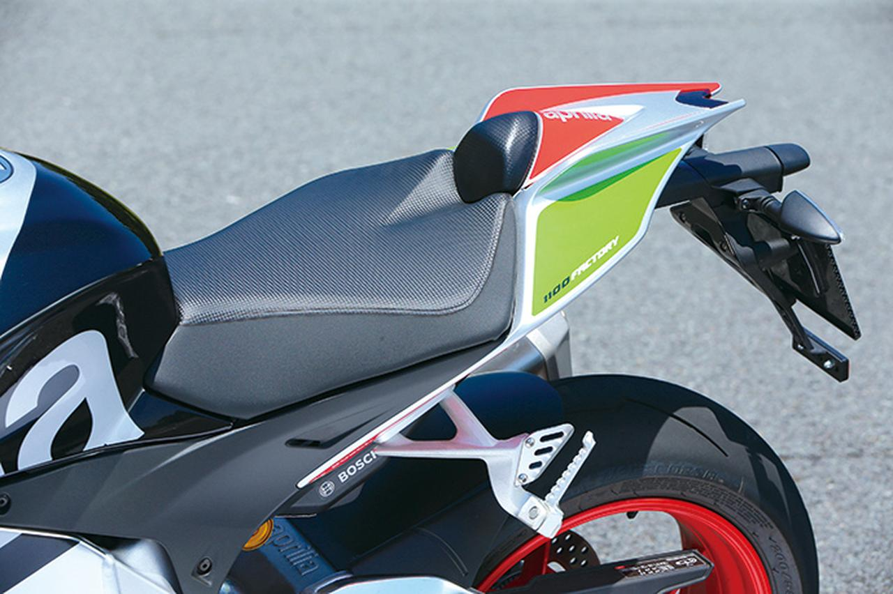 Images : 11番目の画像 - APRILIA TUONO V4 1100 FACTORY - webオートバイ