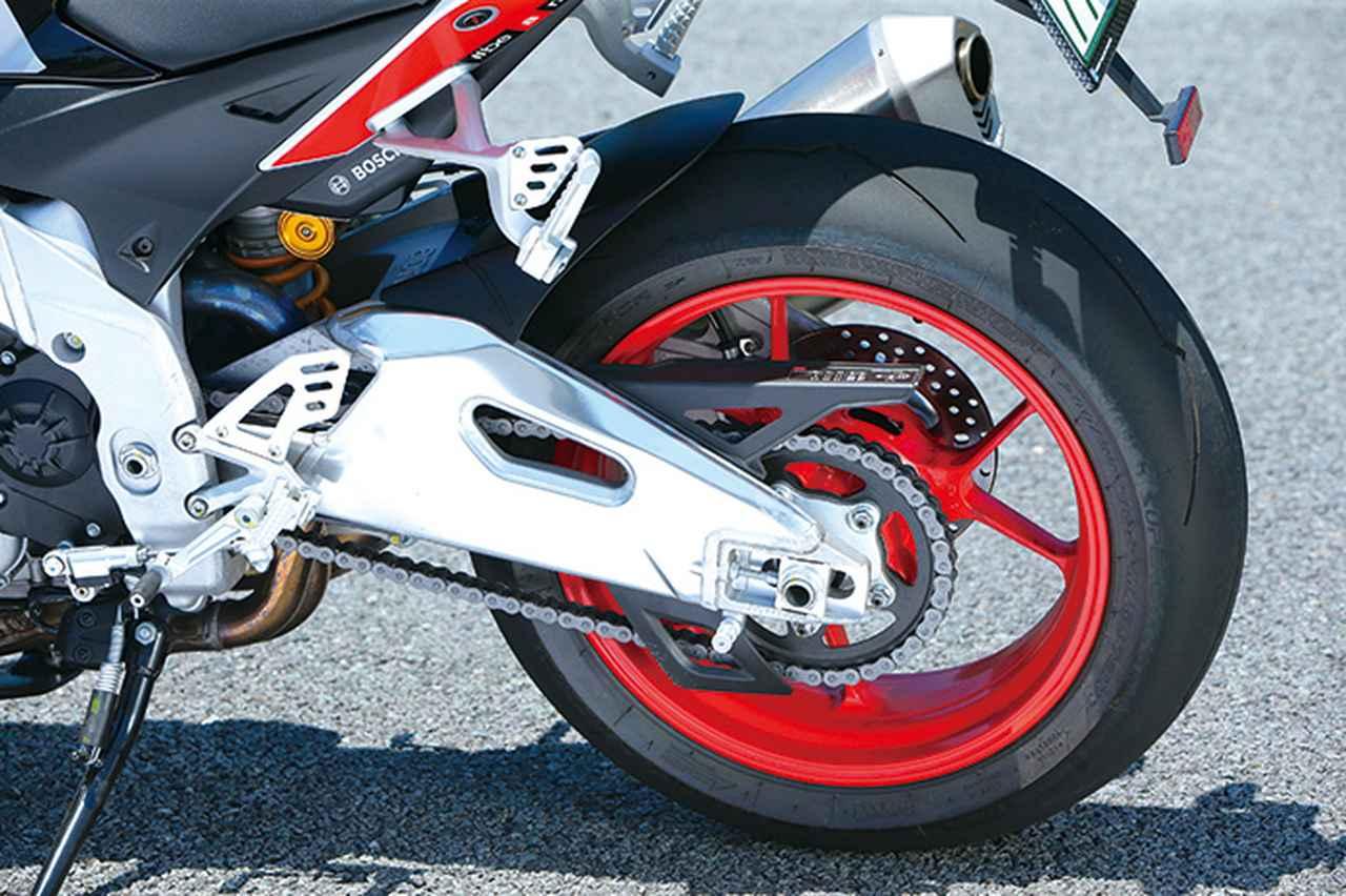 Images : 8番目の画像 - APRILIA TUONO V4 1100 FACTORY - webオートバイ