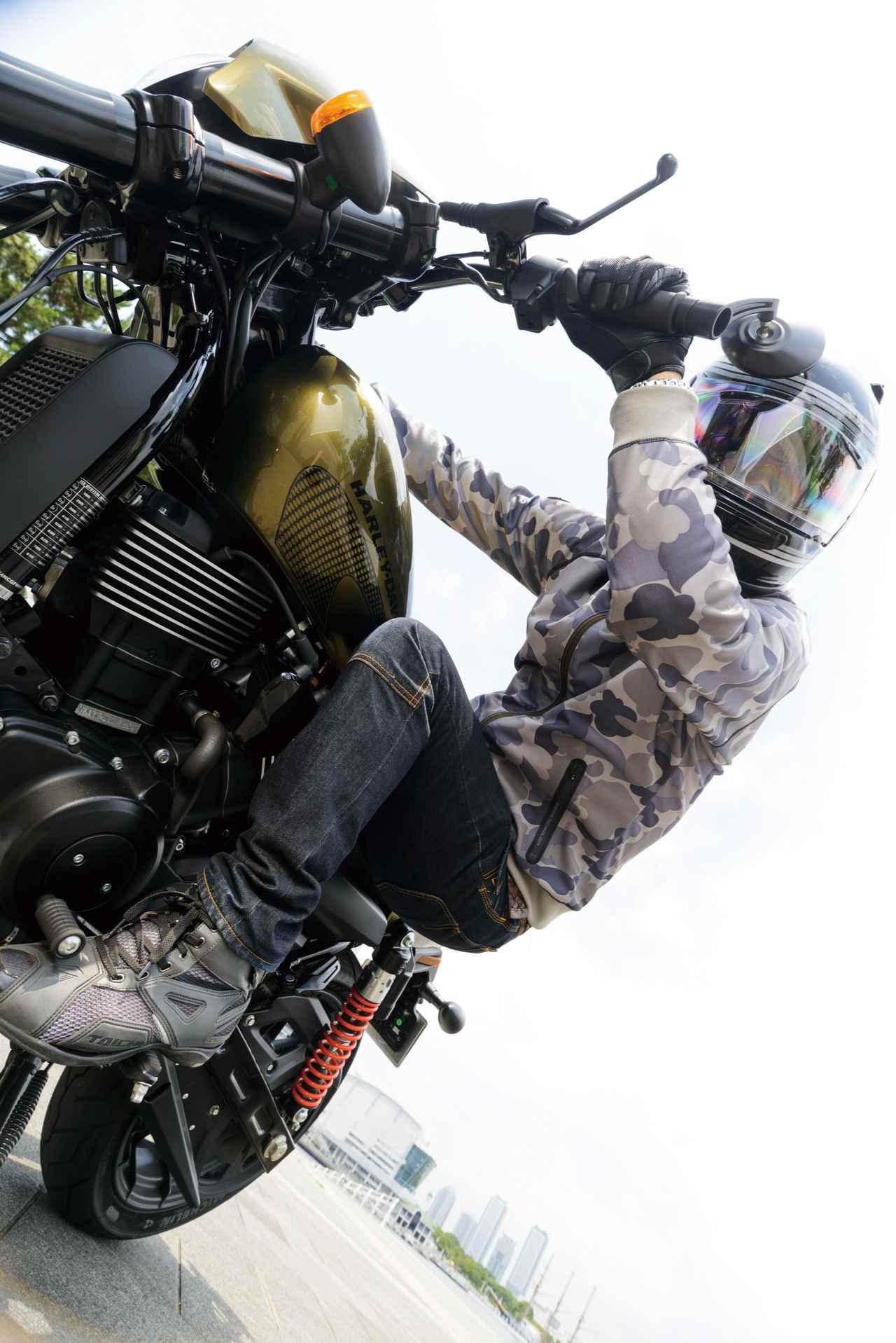 Images : 6番目の画像 - HARLEY-DAVIDSON STREET ROD[XG750A] - webオートバイ