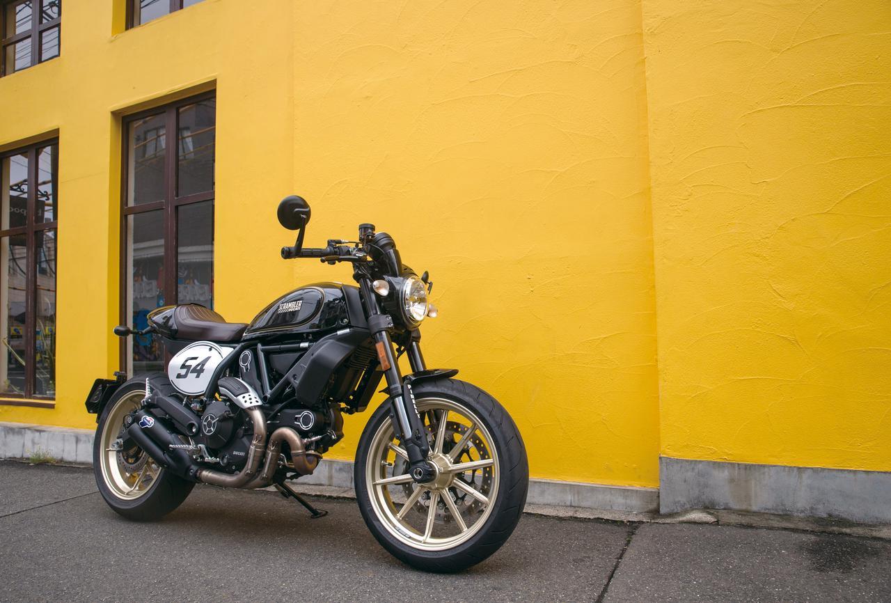Images : 3番目の画像 - DUCATI Scrambler Café Racer - webオートバイ