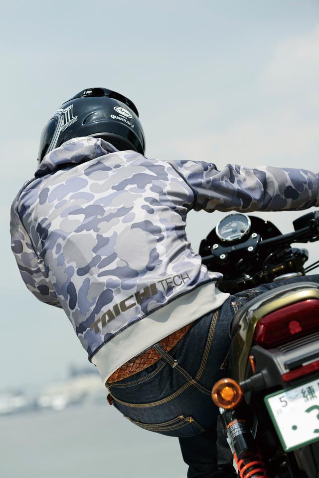 画像2: 〝ニーグリップ〟でSports Riding