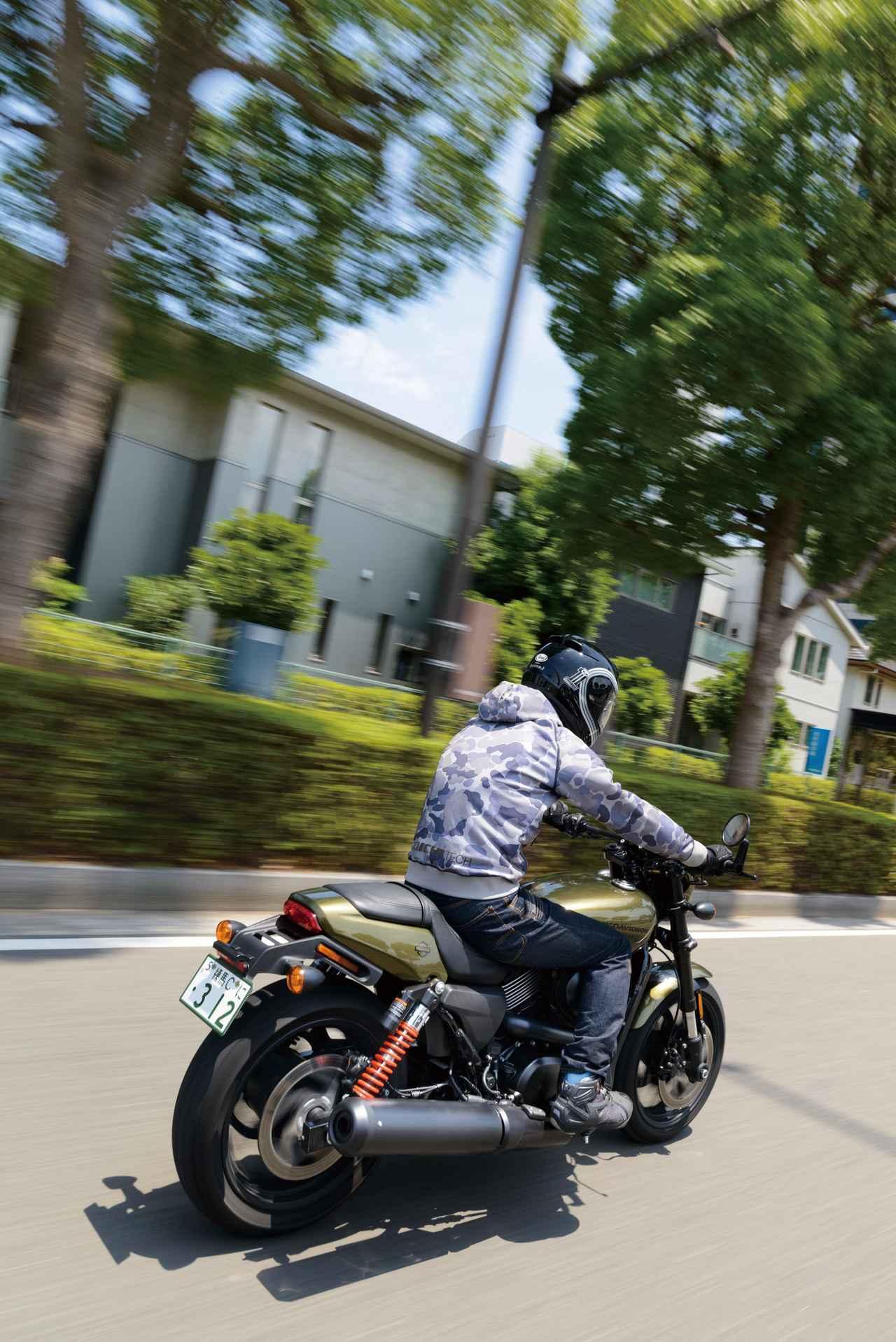 Images : 3番目の画像 - HARLEY-DAVIDSON STREET ROD[XG750A] - webオートバイ