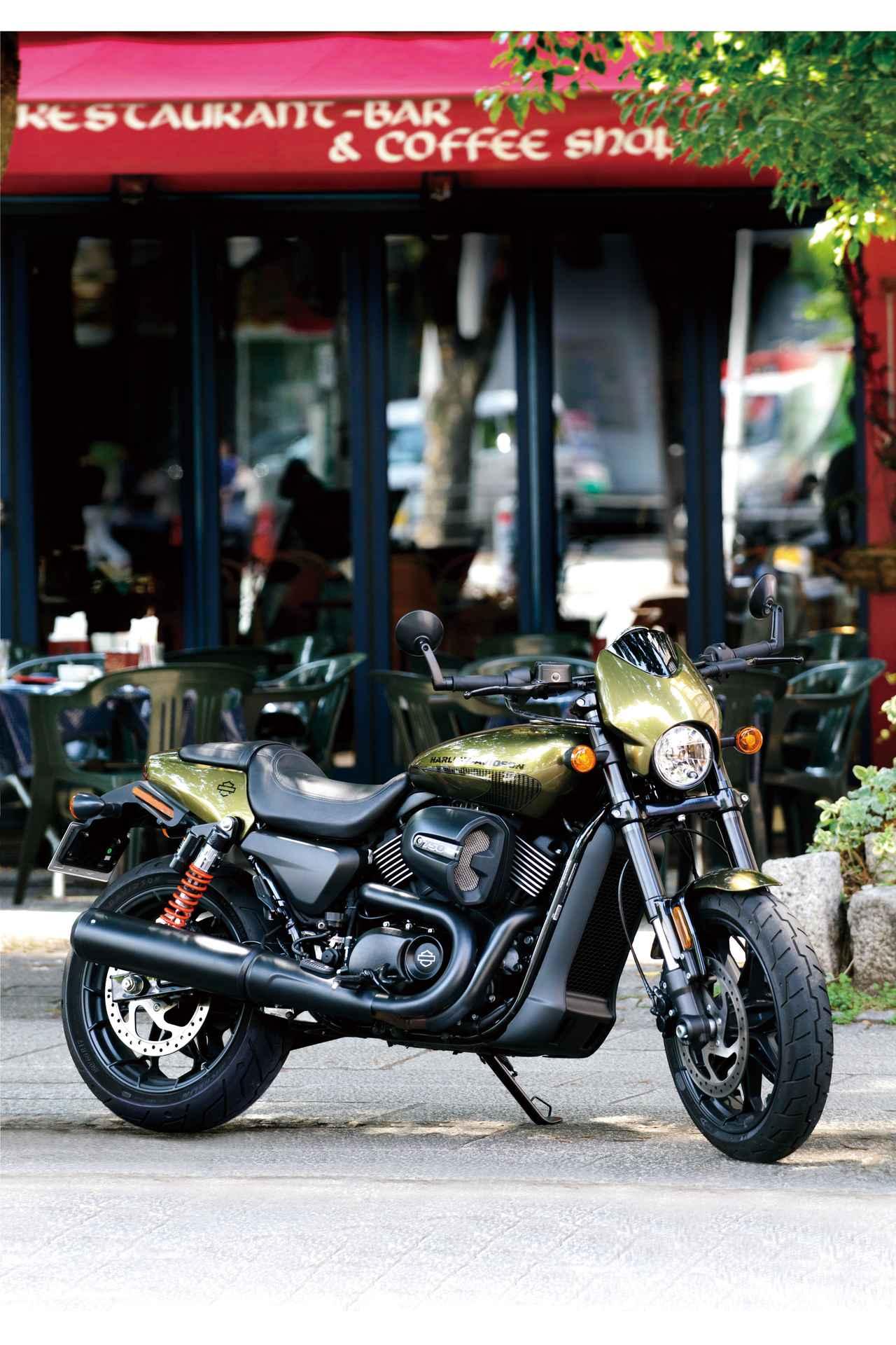 Images : 1番目の画像 - HARLEY-DAVIDSON STREET ROD[XG750A] - webオートバイ