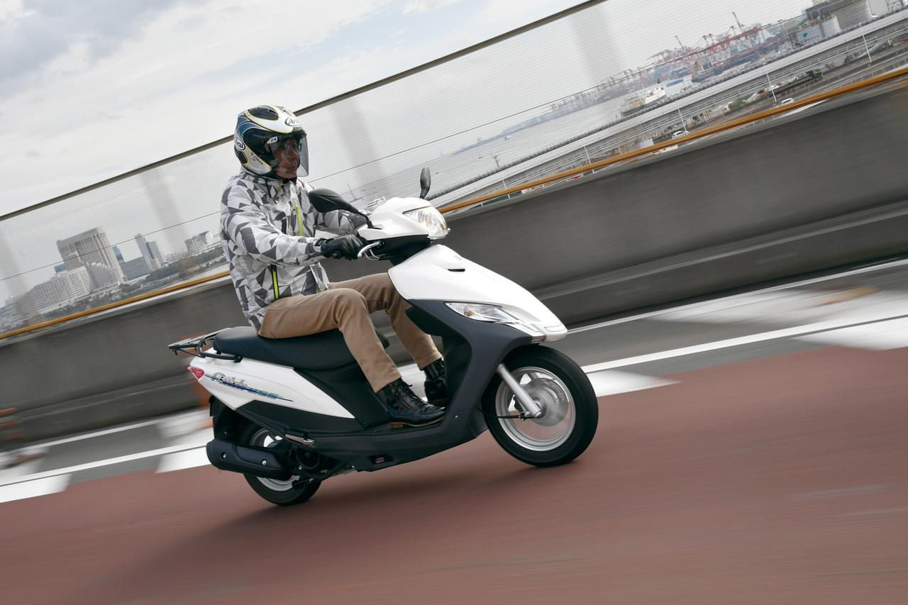 Images : 2番目の画像 - SUZUKI ADDRESS125 - LAWRENCE - Motorcycle x Cars + α = Your Life.